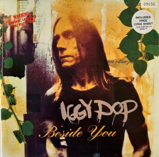 "Iggy Pop ‎- Beside You (10"") (VG+/VG+)"